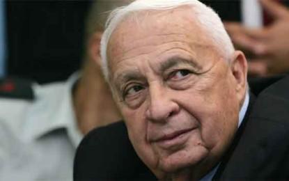 מת ראש הממשלה לשעבר אריאל שרון