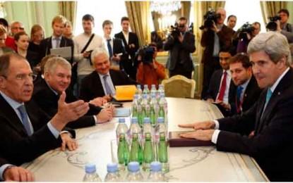 משבר אוקראינה: מבוי סתום בין קרי ללברוב/אלי לאון