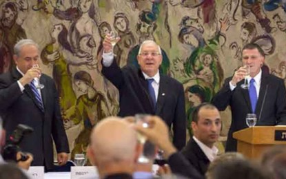 ראובן ריבלין נבחר לנשיא הבא של ישראל /יהונתן ליס