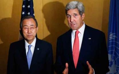 """האו""""ם וארה""""ב הודיעו: הפסקת אש ל 72 שעות/עמית ולדמן ואודי סגל-"""