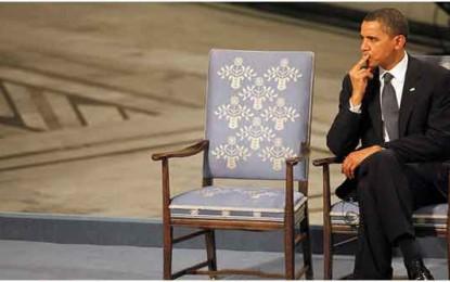 ההזדמנות האחרונה של אובמה להצדיק את פרס הנובל/עקיבא אלדר