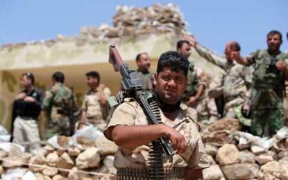 הג'יהאדיסטים הציגו את הכוח הצבאי המרשים ביותר בעיראק במערומיו/ מרטין צ'ולוב, גרדיאן
