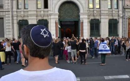 פריז נסערת מהליגה להגנה יהודית צרפתית/שירלי סיטבון