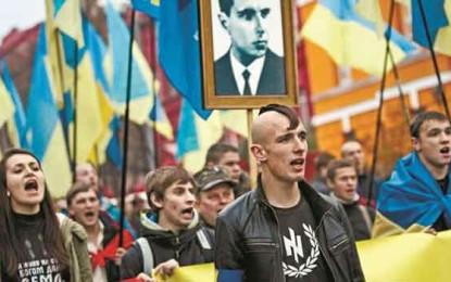 דיווח מהשטח בקייב: ברקע המלחמה הגוברת, בחזרה לכיכר העצמאות/ שלום בוגוסלבסקי, אוקראינה