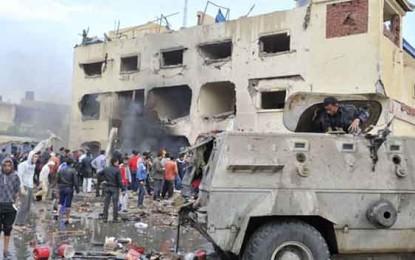 ב14 בני אדם, בהם חיילים ושוטרים מצרים, נהרגו בשני פיגועים בצפון סיני