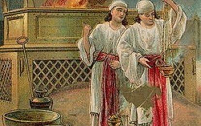 פרשת שמיני חטאם של נדב ואביהוא