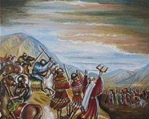 פרשת עקב ונאום משה