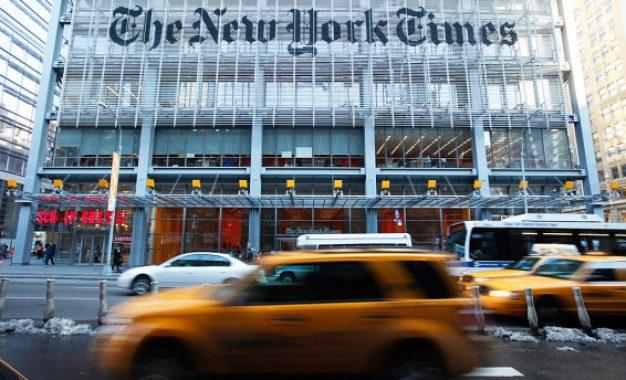 "sעורך בכיר ב""ניו יורק טיימס"" פרסם ציוצים אנטישמיים מאת ארז לין"