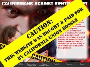 ?אזרחי קליפורניה נגד גניבת זהות