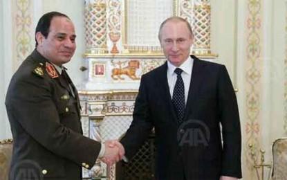 צפו: כאשר המצרים ניסו לנגן את ההמנון הרוסי