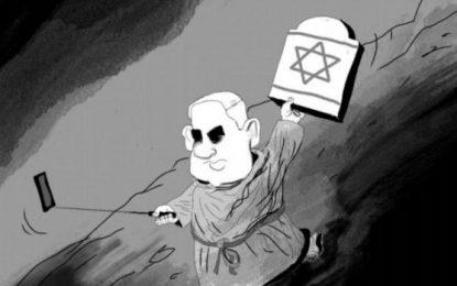 קריקטורה נוספת של נתניהו פורסמה בניו יורק טיימס