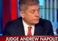 """השופט נפוליטנו בפוקס: """"בוודאות להדיח את טראמפ"""" \ אדם קטן"""