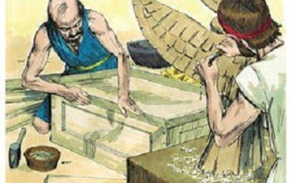 פרשת ויקהל כלי המקדש