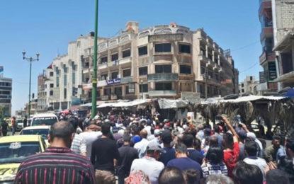 הלירה קורסת: הפגנות חריגות בסוריה בשל המצב הכלכלי הקשה