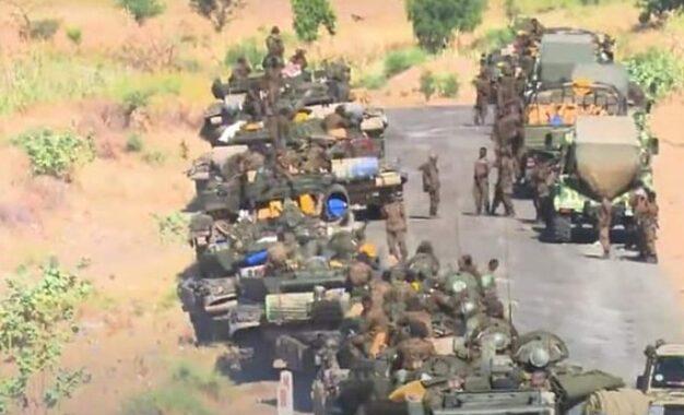 הצבא האתיופי מתקדם במחוז תיגראי