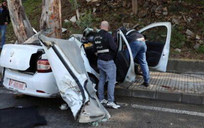 הבריחה הגדולה: עשרות נמלטו מכלא בלבנון, 5 נהרגו בתאונה של רכב המילוט