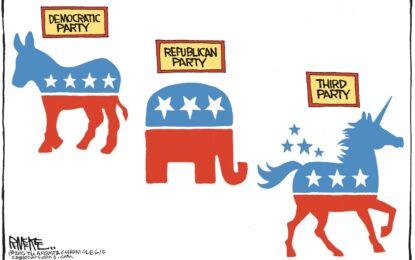 סקר גאלופ: הרפובליקנים רוצים מפלגה שלישית \ ג. הוילינגר