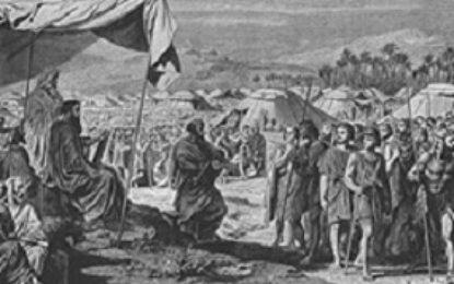 פרשת במדבר מנין בני ישראל